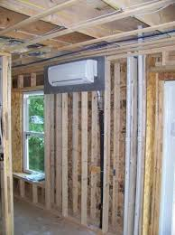 mini split heat pump cost.  Heat The Indoor Unit Of A Ductless Minisplit Heat Pump Is Small Fancoil Unit  Connected To The Outdoor With Insulated Copper Tubing  And Mini Split Heat Pump Cost
