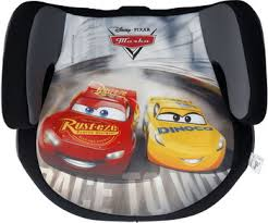 <b>Автокресло Siger серия Disney</b>, гр. III, Тачки гонка серый KRES2672