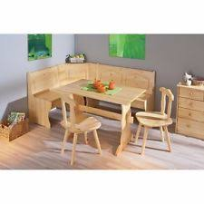 corner dining furniture. corner dining table set furniture kitchen rustic wooden pine 2 chairs bench new o