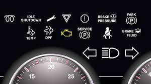 International Truck Dash Lights International Durastar Dashboard Lights