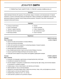 Science Resume Examplesomputer Resumes Lecturer Format For Sample