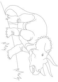 トリケラトプスリアル 塗り絵 無料 恐竜カテゴリー ぬりえワールド