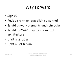 Dva Org Chart Dva 1 Project Management Proposal Chris Langley Nrao 1 Us