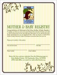 Gift Registry Template Great Ideas For Baby Registry Cardsate Lovely Shower Gift