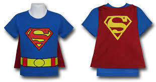 kids shirt with cape