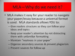 Mla Format What Is Mla Mla Stands For Modern Language
