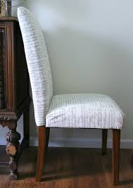 How to Reupholster a Dining Chair + Straying from your \