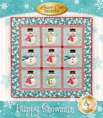 Happy Snowman Quilt Pattern &  Adamdwight.com