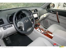Ash Interior 2013 Toyota Highlander Hybrid Limited 4WD Photo ...