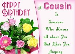 Happy Birthday Card Templates Free Simple Happy Birthday Cousin 48 Best Wishes For Your Favorite Relation