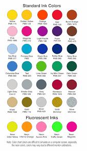 Port Authority Color Chart Color Charts