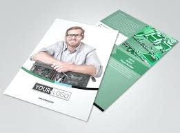 Training Flyer Templates Free Computer Repair Flyer Template Free Training Shop Brochure