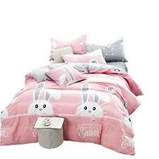 childrens duvet cover sets asda toddler duvet sets south africa pink girls bedding set rabbit cartoon