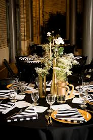 elegant black and white wedding modern elegant white black and gold wedding every last detail