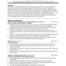 Resume Samples Senior Administrative Assistant Archives ...