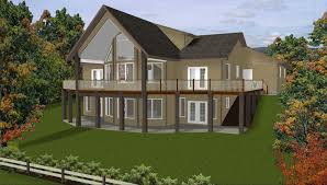 lake house floor plans with walkout basement new waterfront house plans walkout basement 24 new daylight
