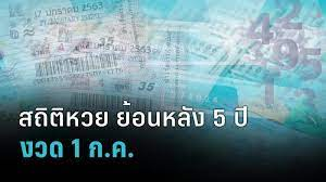 เปิดสถิติหวยออกงวด 1 ก.ค. 5 ปีย้อนหลัง : PPTVHD36