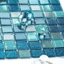 sea glass tile backsplash sea glass tile ideas bathroom mosaic mirror tile sheets sea glass tile