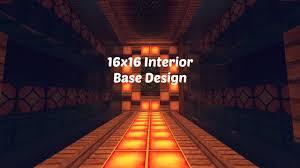 Factions Base Design Schematic 16x16 Factions Base Tour Minecraft Faction Interior Design Ep 5