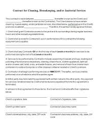 Contract Format Template