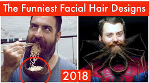 Funny Facial Hair Designs The Funniest Facial Hair Designs Ever Youtube