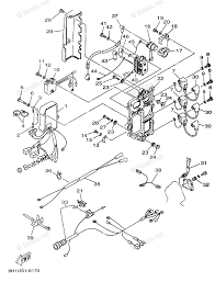 Yamaha outboard parts by year 1998 oem parts diagram for electrical