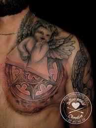 Tetování Anděl Tetování Tattoo