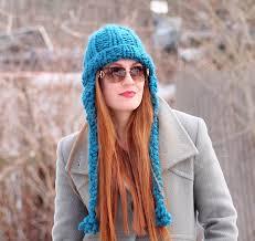 Earflap Hat Knitting Pattern Cool Cobbles Ear Flap Hat Knitting Pattern Gina Michele