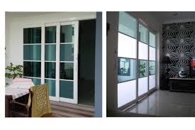 Outstanding Home Interior Design With Translucent Sliding Doors :  Extraordinary Glass Door And Glass Wall For ...