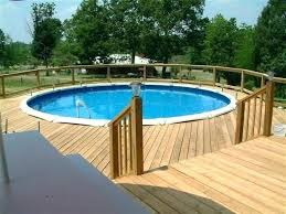 pool decks for above ground pools foot above ground pool decks around above ground pools great