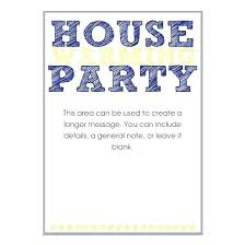 Luxury Housewarming Party Invitation Template For Craft