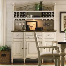 China Kitchen Palm Beach Gardens Summer Hill 2 Pc Serving Buffet And Bar Hutch With Wine Storage