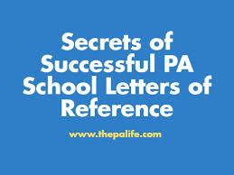secrets of successful pa letters