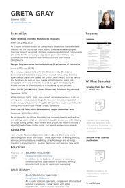 public relations sample resume public relations specialist resume samples visualcv resume samples
