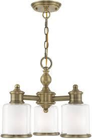livex 40203 01 middlebush antique brass mini chandelier lighting loading zoom