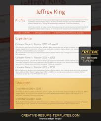 Free Professional Resume Template To Download