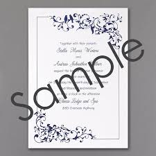 Sample Of Weeding Invitation Little Love Bird Wedding Invitation Sample