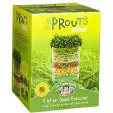 Kitchen Garden Sprouter Mr Fothergills Sprouts Alive Kitchen Seed Sprouter Big W