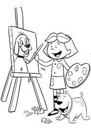 Paint Coloring Pages Coloring Pages For Summer Paint Horse Coloring
