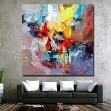 Oil Painting For Living Room Beautiful Oil Paintings On Canvas Modern Abstract Paintings Living