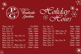 view holiday hours