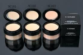 mac makeup kit for loose powder foundation professional makeup makeup and mac makeup kit
