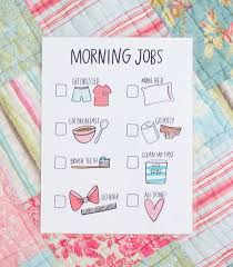 Adhd Morning Routine Chart Pinterest Morning Routine Printable Routine Chart And Kids