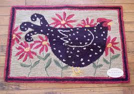 black hen rug park designs