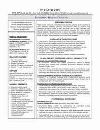 Test Manager Sample Resume Awesome Market Research Resume