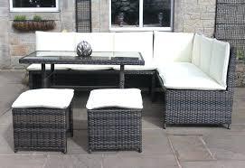outdoor corner sofa rattan corner sofa dining set outdoor garden furniture in black or mixed brown