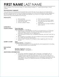 Executive Classic Format Resume Builder 49 Impressive Classic Resume