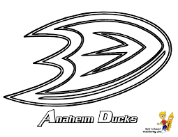 NHL Hockey Coloring Page - Coloring Home