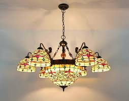 stained glass hanging lamp ceiling shades hardware