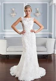 13 best 2015 wedding dresses images on pinterest wedding Wedding Dress Shops Queen Street Mall Brisbane style 6332 beaded alencon lace fit and flare gown featuring a sabrina neckline, pleated regal satin accent at natural waist and scattered beaded alencon wedding dress shops queen st mall brisbane